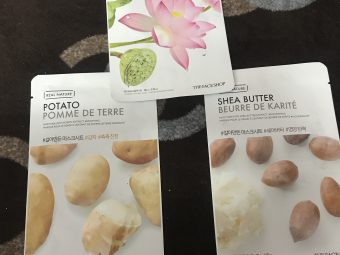 The Face Shop The Solution Firming Face Mask -Hydrating sheet mask-By poonam_kakkar