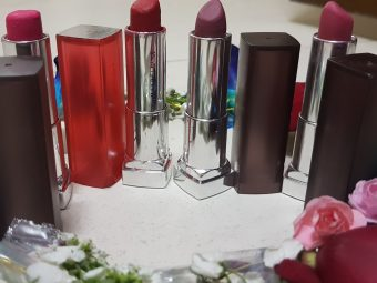 Maybelline New York Color Sensational Inti-Matte Nudes Lipstick pic 1-Perfect for daily wear-By poonam_kakkar