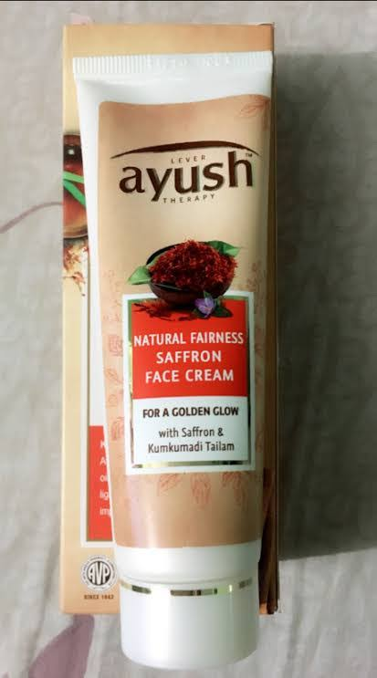 Lever Ayush Natural Fairness Saffron Face Cream -Good-By pogostylecase
