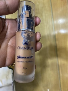 Chambor Enriched Revitalizing Makeup Foundation-Good foundation-By poonam_kakkar