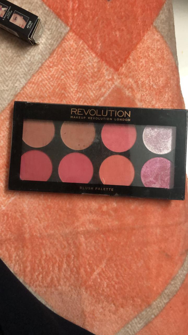Makeup Revolution Blush Palette-Love this palette-By poonam_kakkar