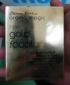 Aroma Magic Gold Facial Kit -Gold facial at home-By poonam_kakkar