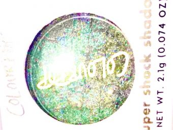 ColourPop Super Shock Eyeshadow -Super shocking shades on eyes-By ritikajilka1991