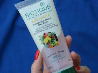 Biotique Bio White Advanced Fairness Face Wash -Good-By pogostylecase