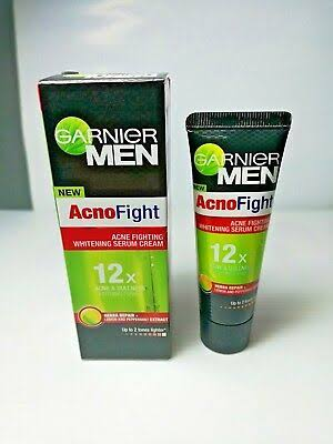 Garnier Men Acno Fight Pimple Clearing Whitening Cream-Not good-By pogostylecase