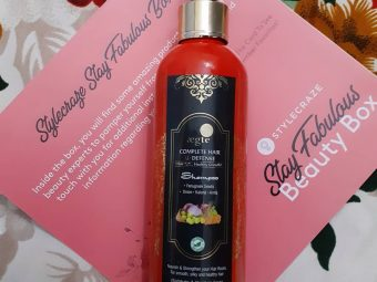 Aegte Complete Hair Defense Shampoo Enriched with Red Onion, Fenugreek Seeds, Kalonji & Amla -A really great shampoo for everyday use-By purwi