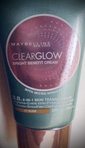 Maybelline ClearGlow Bright Benefit Cream-Glowing skin-By ritikajilka1991