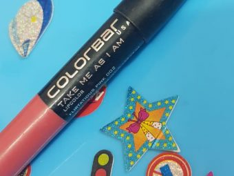 Colorbar Take Me As I Am Lipstick -Lip glider-By poonam_kakkar