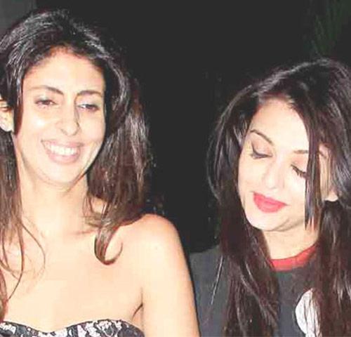 Aishwarya Rai and Shweta Nanda