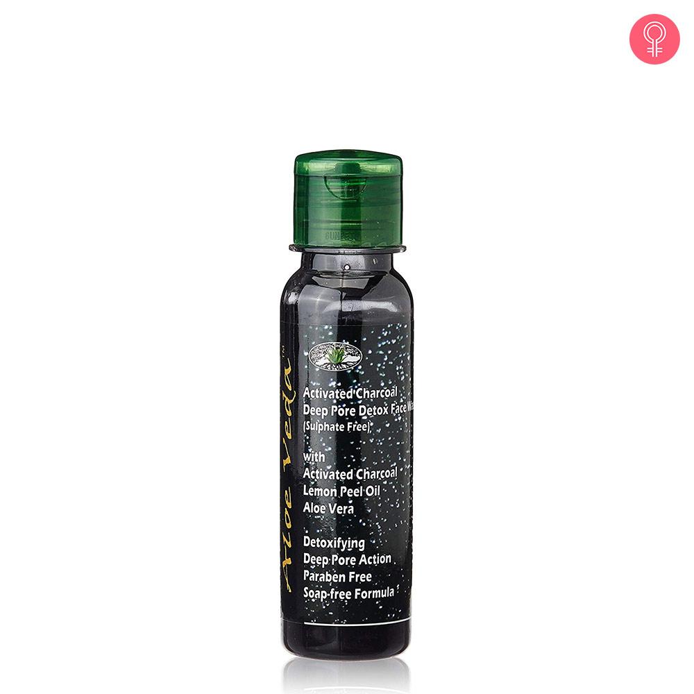 Aloe Veda Activated Charcoal Deep Pore Detox Face Wash