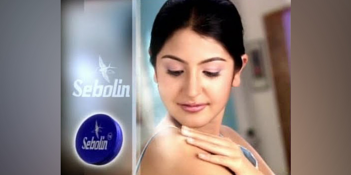 Anushka Sharma- Sebolin Advert
