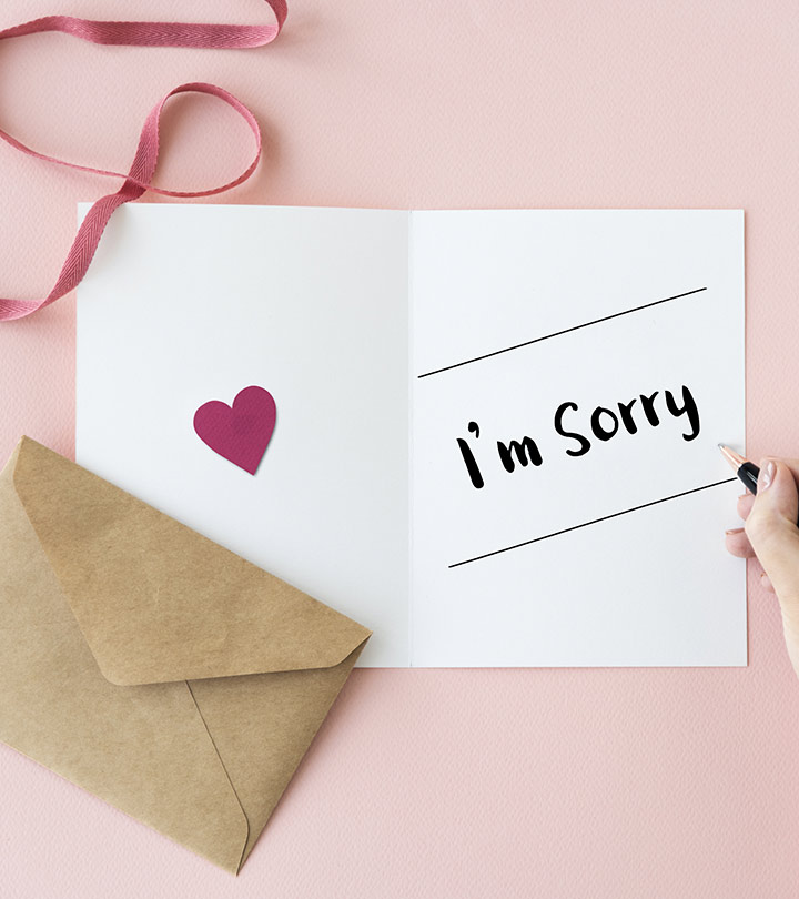 Apology Letter To Your Boyfriend