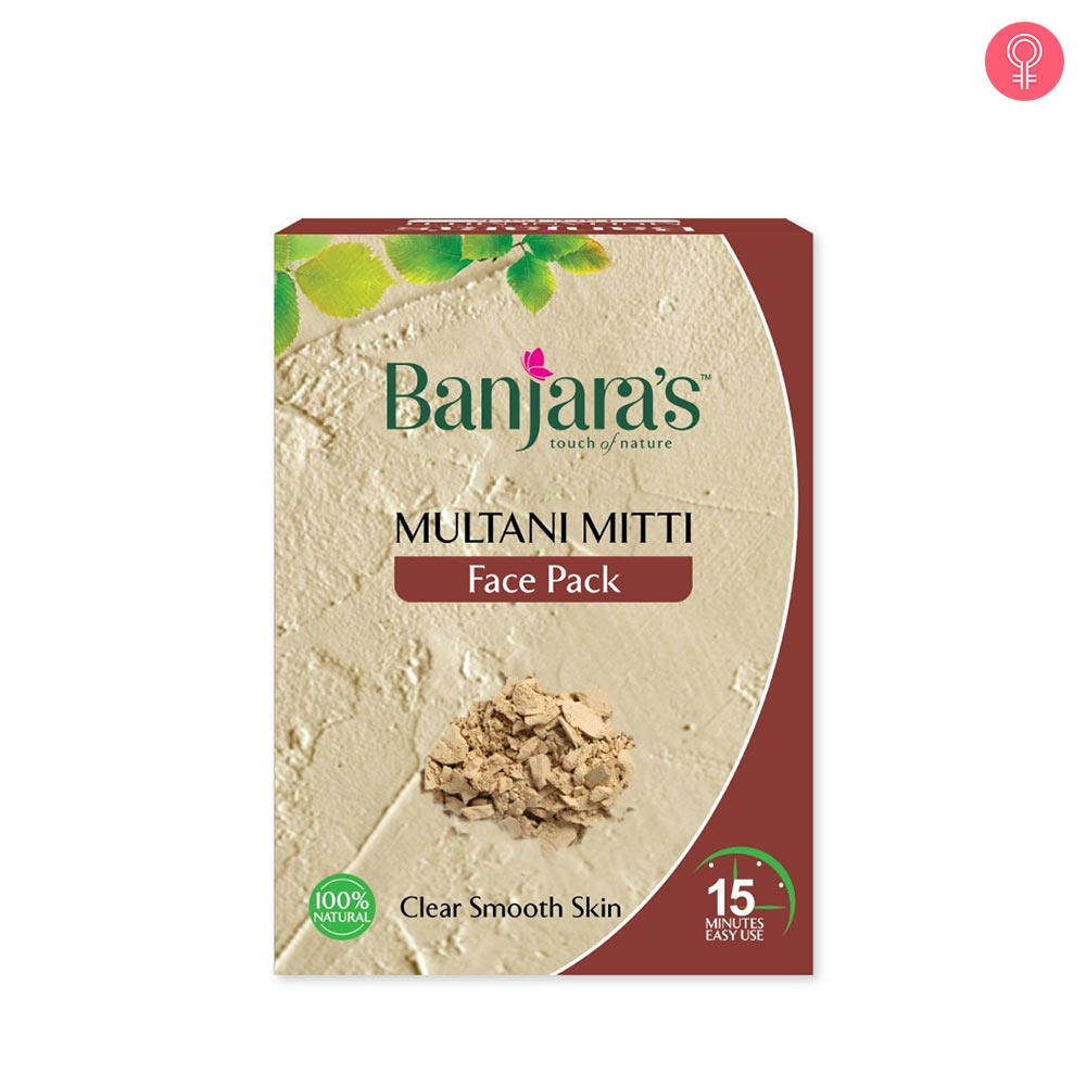 Banjaras Multani Mitti Face Pack Powder