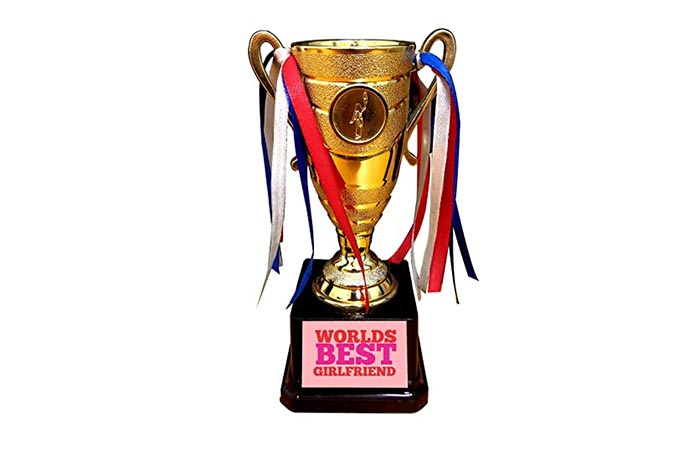 Best Girlfriend Trophy