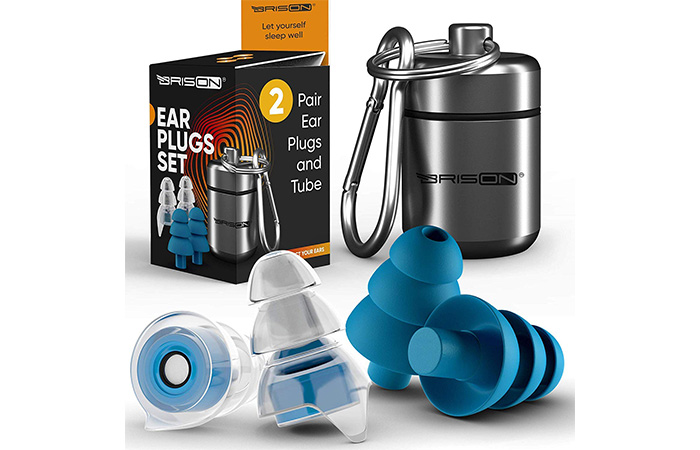 Brison Noise Cancelling Ear Plugs For Sleeping