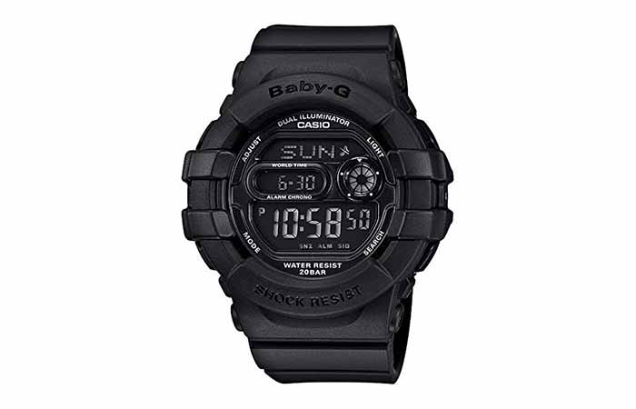 Casio Women's Shock-Resistant Multi-Function Digital Watch