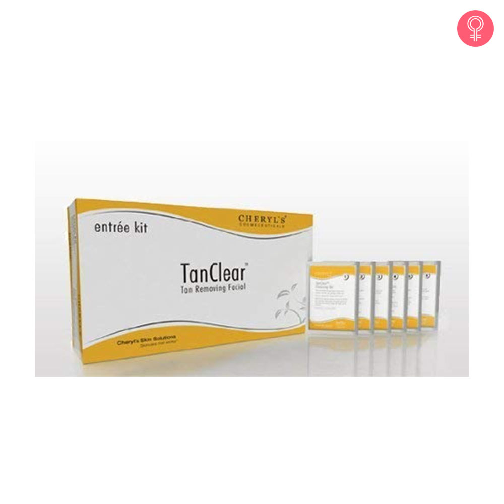 Cheryl's Tan Clear Tan Removing Facial Kit