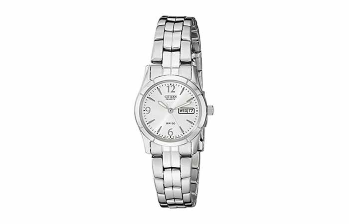 Citizen Women's Quartz Silver-Tone Watch