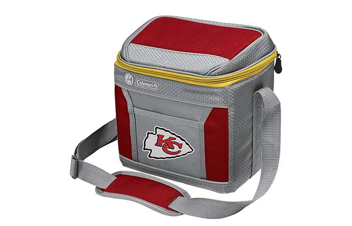 Coleman NFL 9 Can Soft-Sided Insulated Cooler and Lunch Box Bag