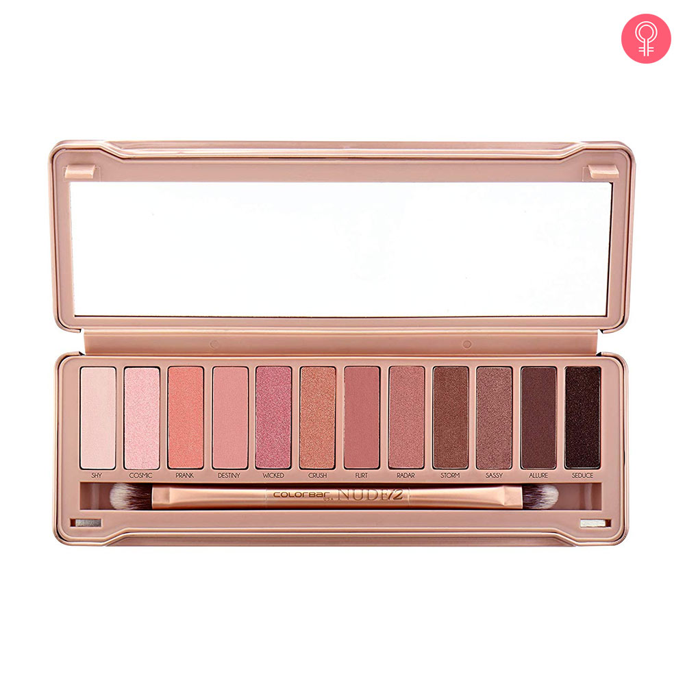 Colorbar Nude 12 Eyeshadow Palette