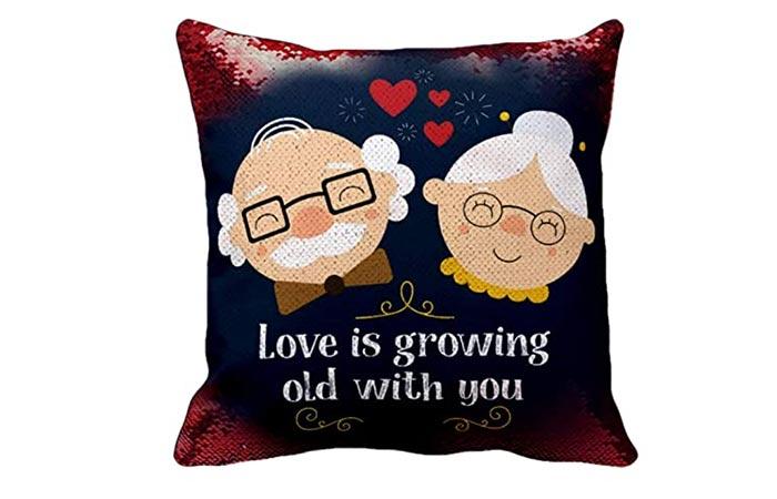 Couple pillow