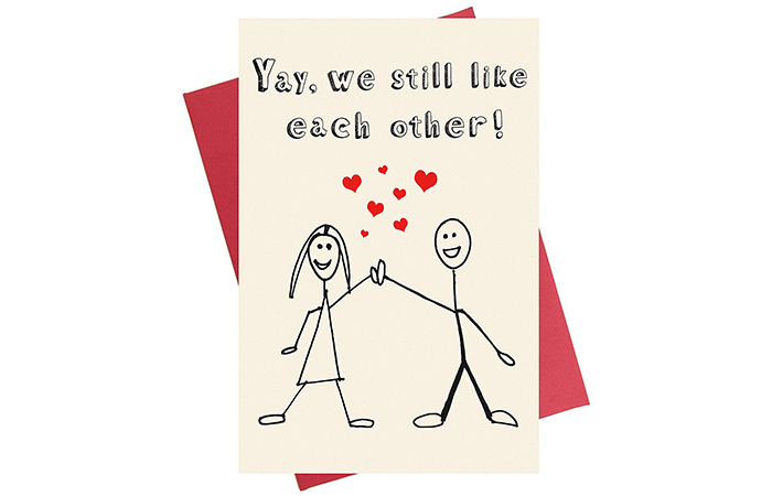 "Decolove ""Yay, We Still Like Each Other"" Card"