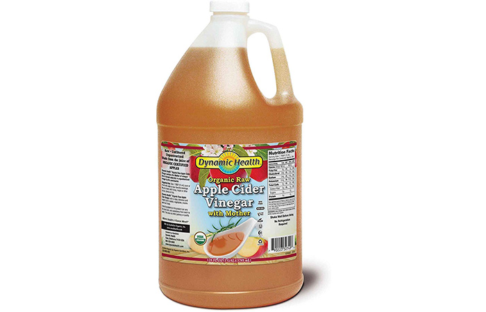 Dynamic Health Organic Raw Apple Cider Vinegar