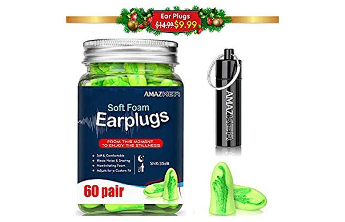 Ear Plugs AMAZKER Bell-Shaped