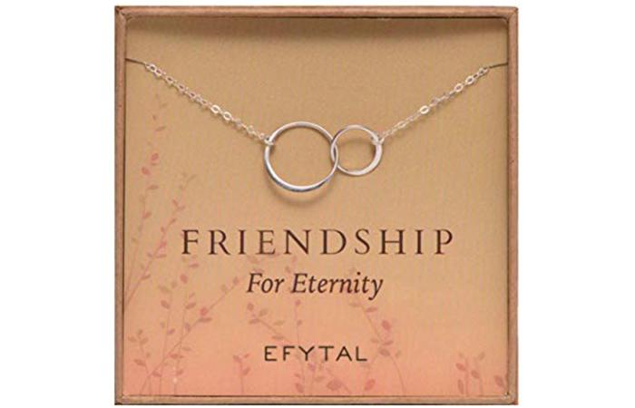 Efytal Sterling Infinity Necklace