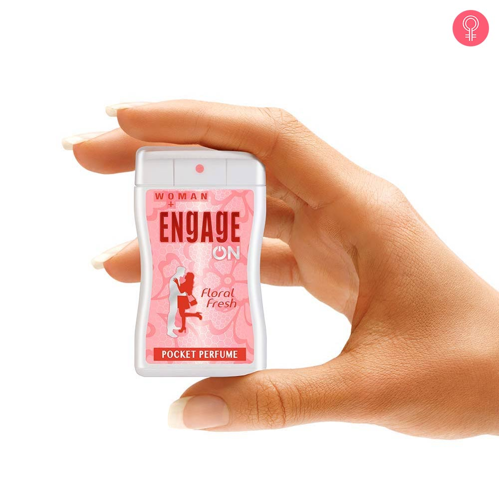 Engage On Floral Fresh Pocket Perfume