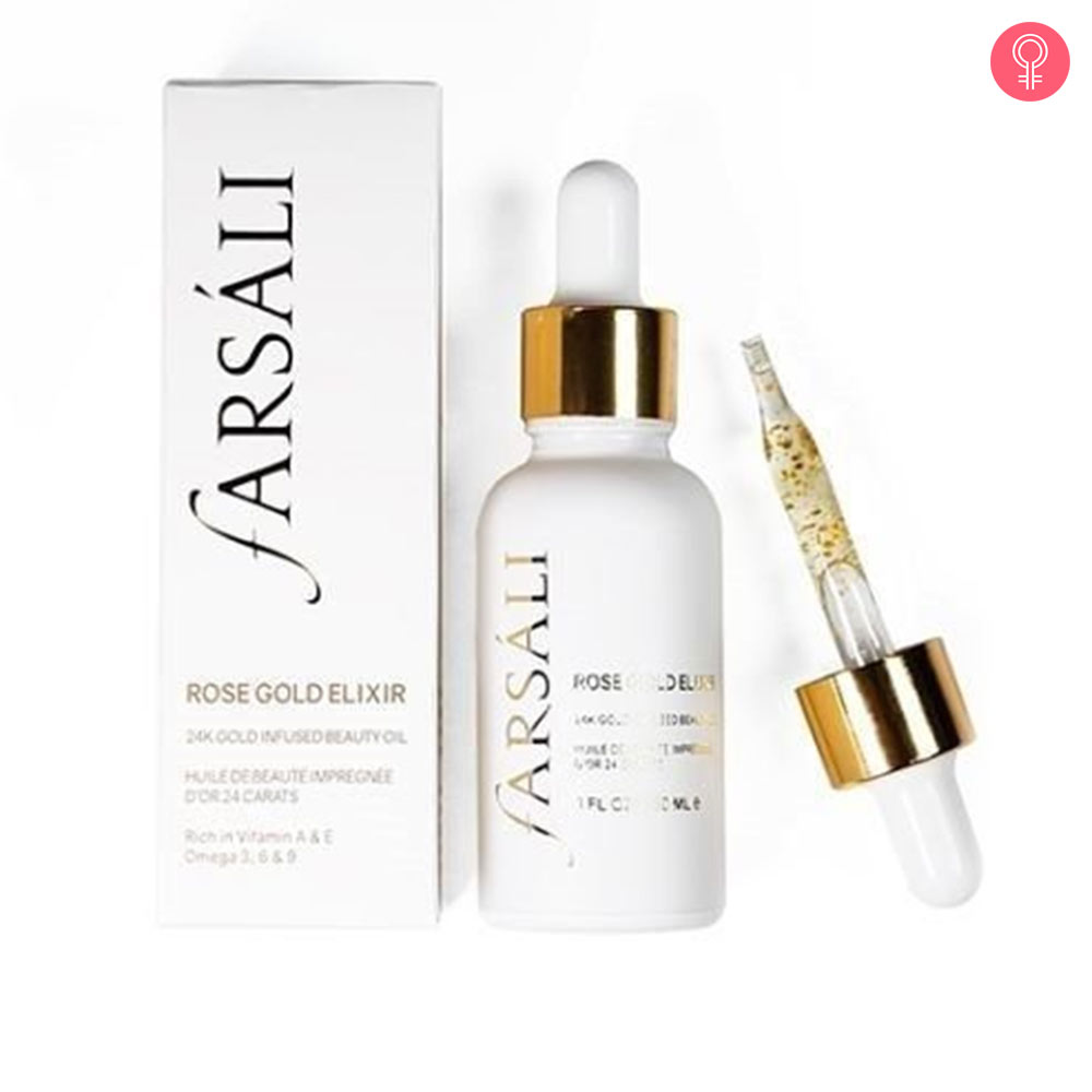 Farsali Rose Gold Elixir Radiating Moisturizer