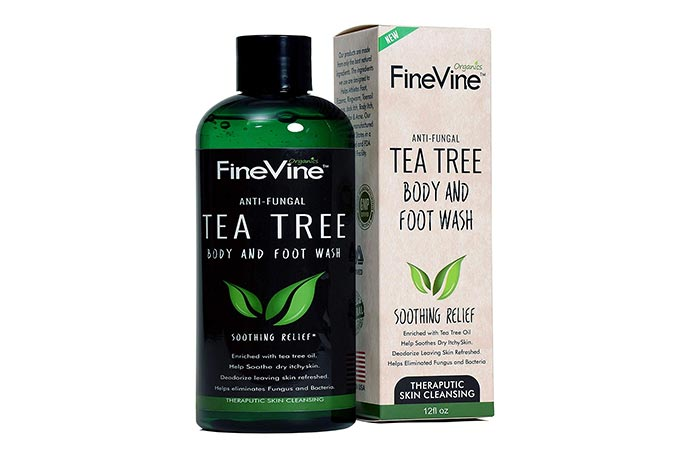 FineVine Anti-Fungal Tea Tree Body And Foot Wash
