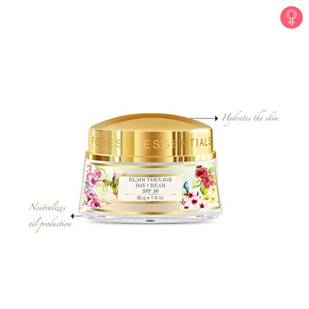 Forest Essentials Eladi Teenage Day Cream SPF 30