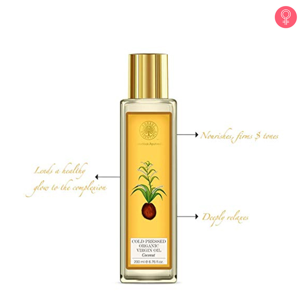 Forest Essentials Organic Cold Pressed Virgin Coconut Oil