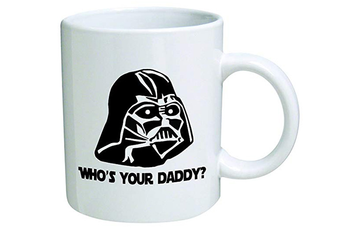 "Go Banners Star Wars ""Who's Your Daddy"" Coffee Mug"