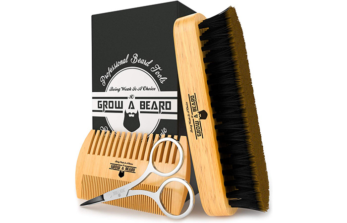 Grow Alpha Beard Beard Brush
