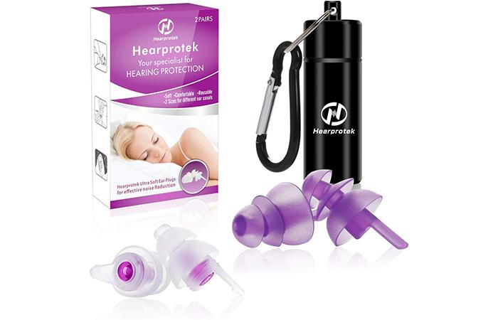 Hearprotek Ultra Soft Sleeping Ear Plugs