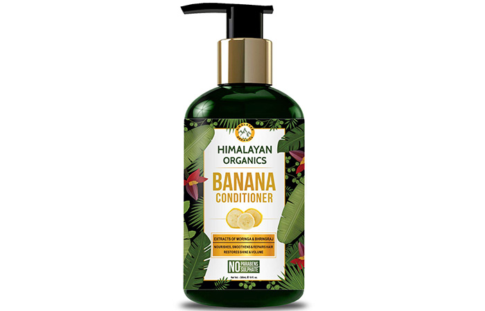 Himalayan Organic Banana Conditioner
