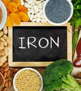Iron Rich Foods in Hindi