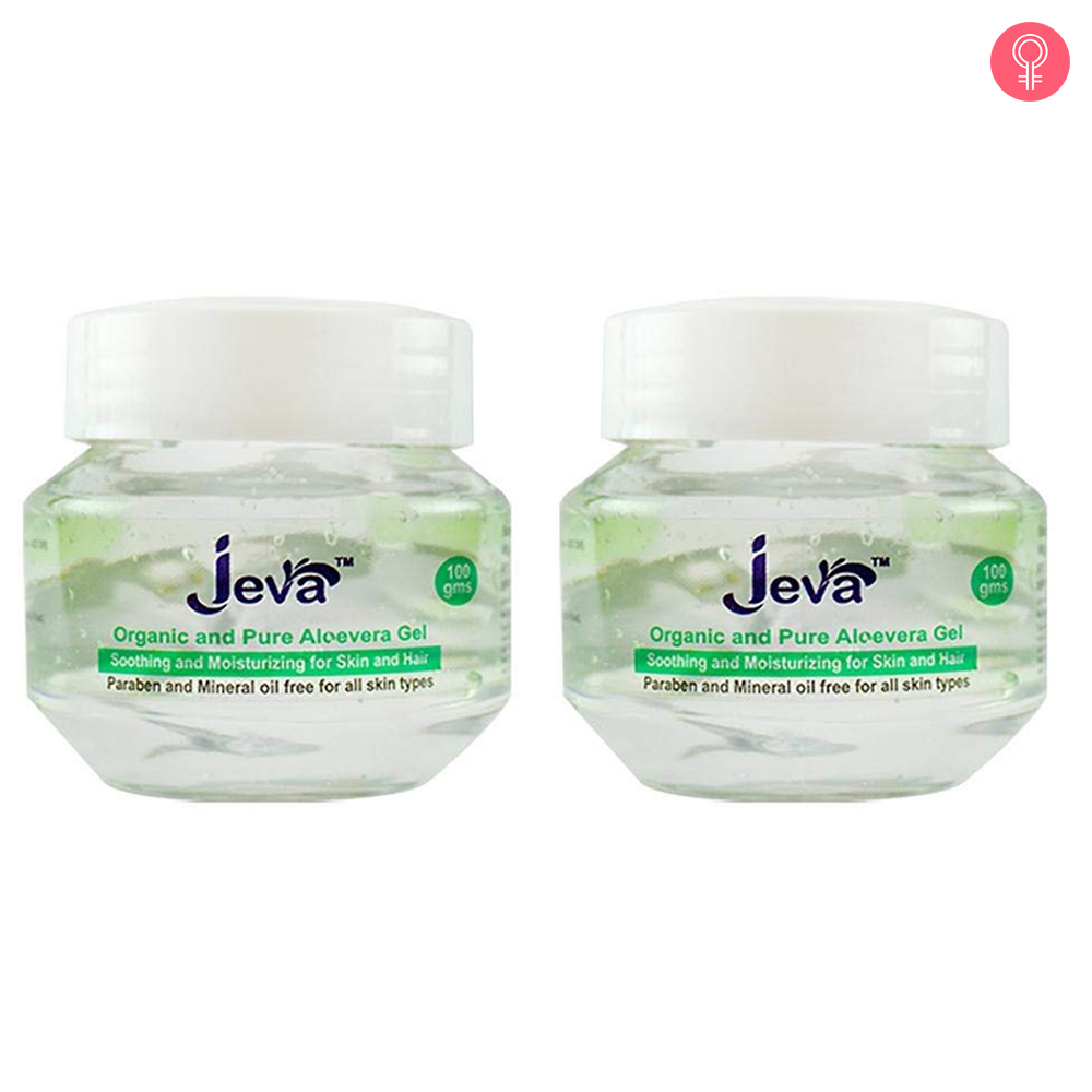Jeva Organic And Pure Aloe Vera Gel
