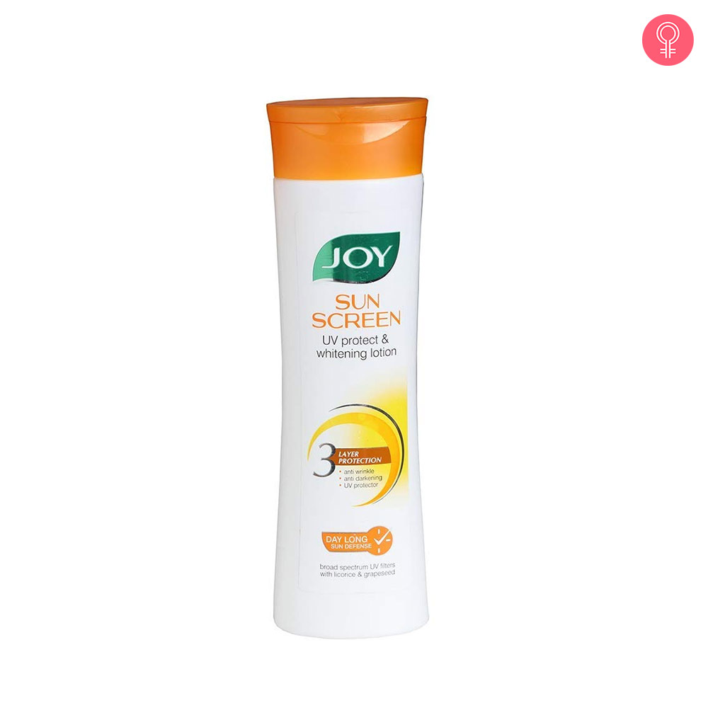 Joy Sunscreen UV Protect and Whitening Lotion