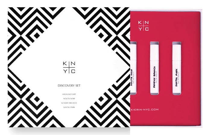 KIERIN NYC Discovery Set - 4 Eau de Parfum Sprays