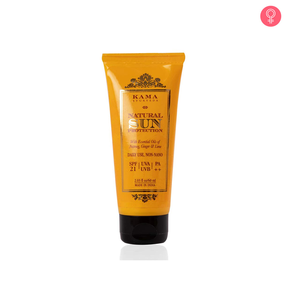 Kama Ayurveda Natural Sun Protection