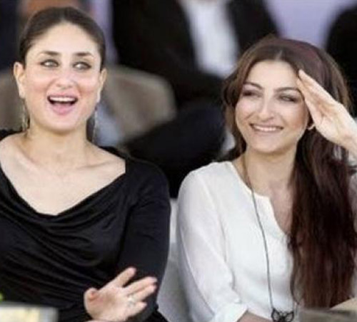 Kareena Kapoor and Soha Ali Khan