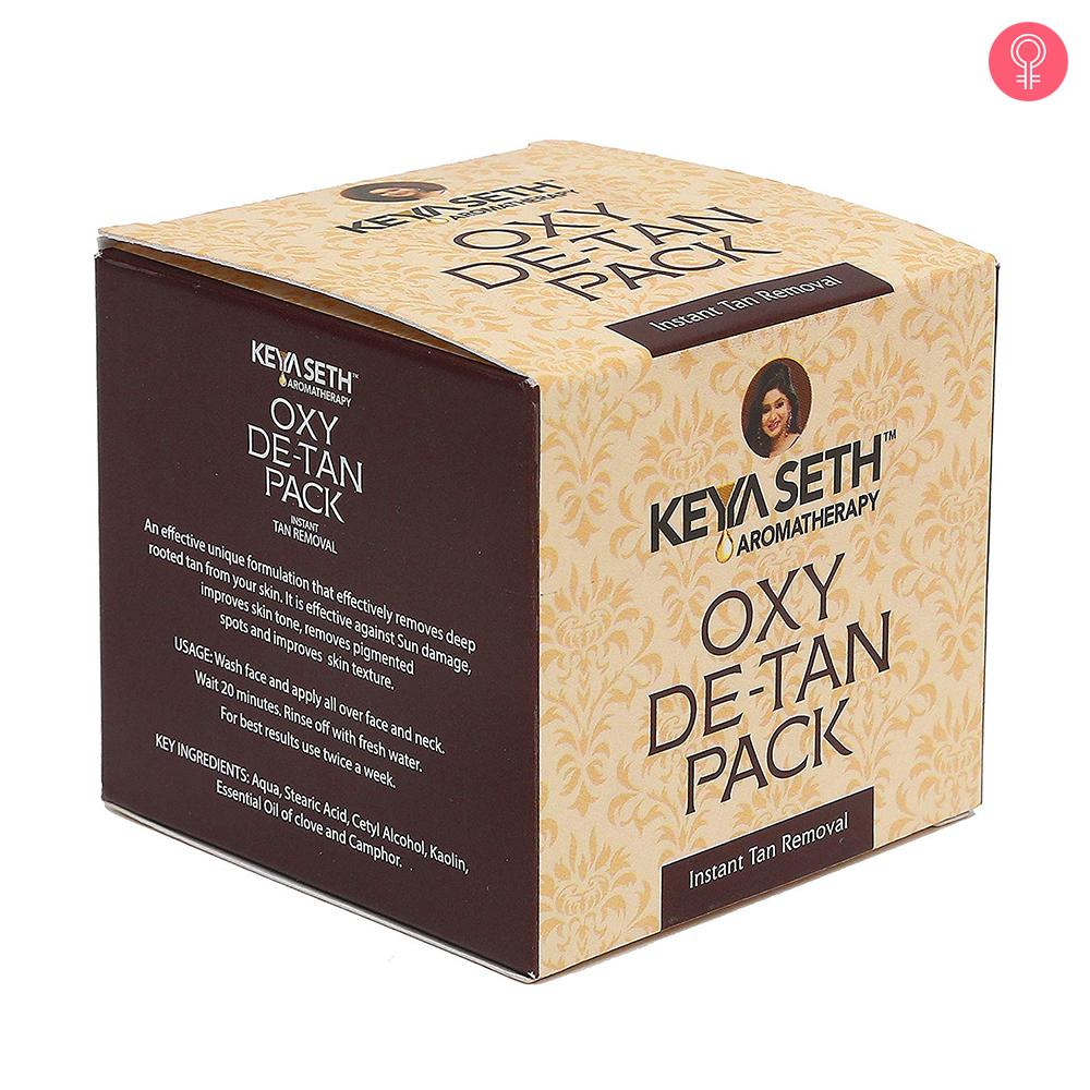 Keya Seth Aromatherapy Oxy De Tan Pack