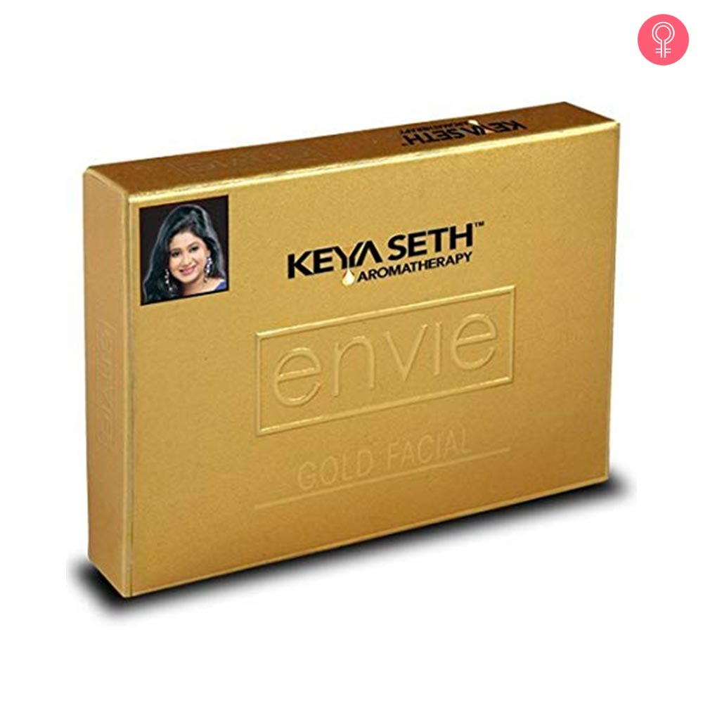 Keya Seth Envie Gold Facial Kit