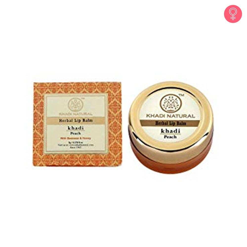 Khadi Natural Lip Balm