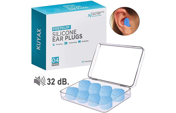 Kuyax Premium Silicone Ear Plugs