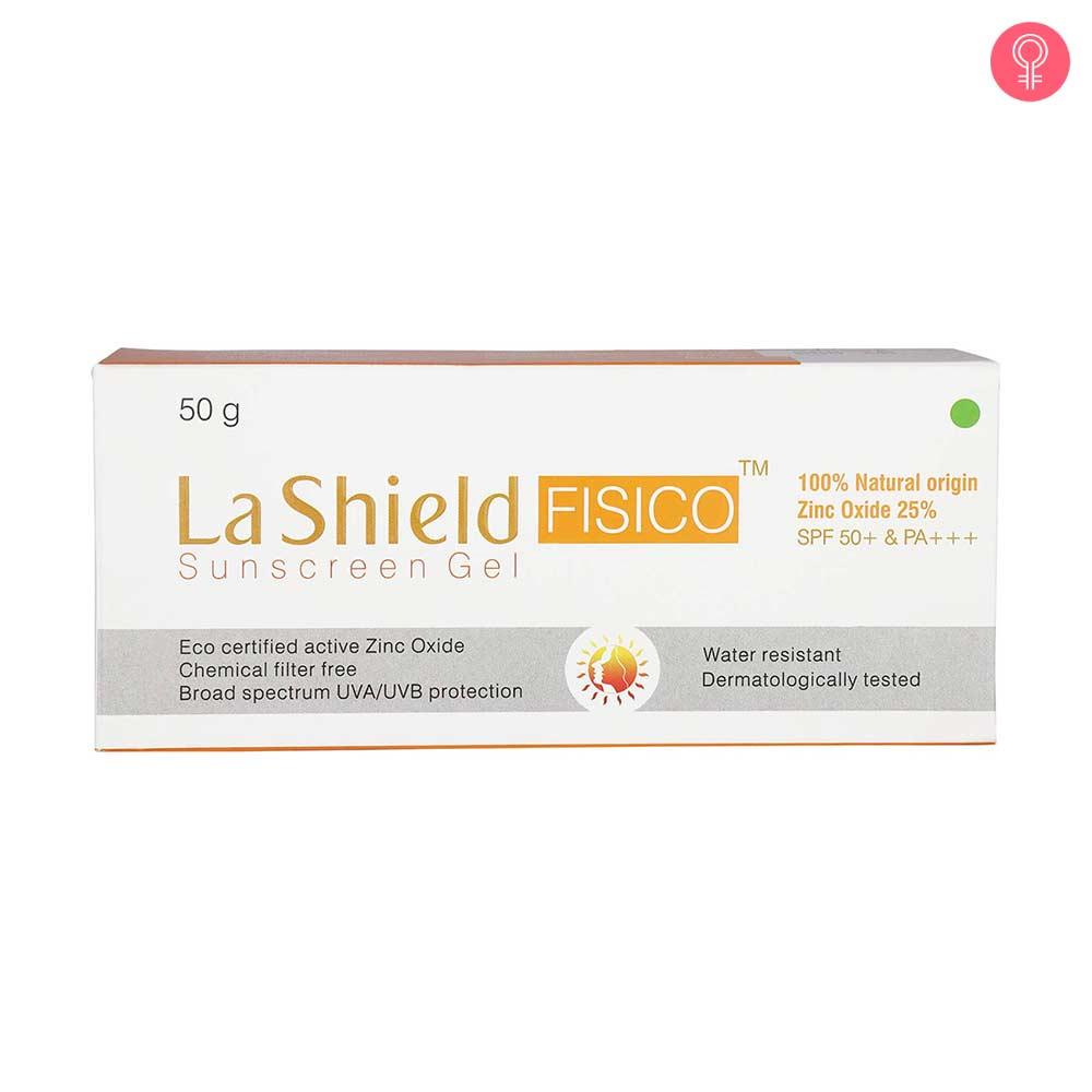 La Shield Fisico Sunscreen Gel SPF 50
