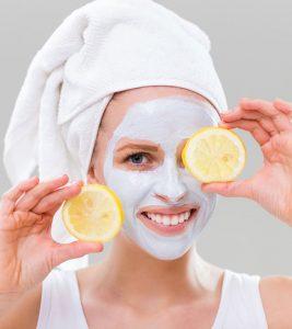 Lemon Face Pack For Fair Skin in Hindi